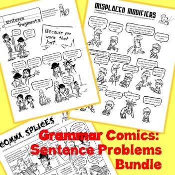 grammar comics bundle preview